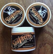 3 Pack Suavecito Firme Strong Hold Pomade 4 oz Hair Styling wax ( BRAND NEW )