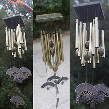 Suspension Carillon éolien 12 tubes Décoratif Extérieur Décoration Jardin Maison mobile NEUF