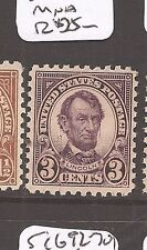 US 3c Lincoln SC 584 MNH (4dcp)