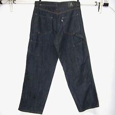 Levi's NWOT ORIGINAL CLASSIC Silver tab Carpenter 100% Cotton Blue Jeans 34x32