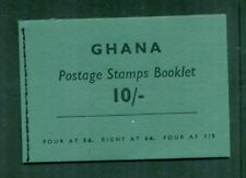 Ghana 1961 10s Booklet with Inverted Panes SG SB4