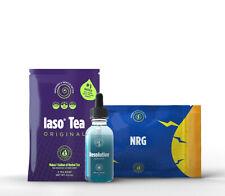 TRIO MINCEUR ** Iaso tea détox + NRG bruleur de graisse + RESOLUTION TLC