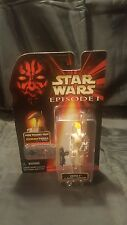 Star Wars Episode I Oom-9 with Blaster Action Figure NiB CommTech
