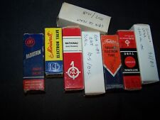 12AU7 and 12au7A tubes various brands various variations ,eg ...5814 , 6189