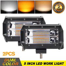 5'' inch PODS STROBE LED Work Light SPOT Off road driving Fog Lamp 4WD ATV  SUV