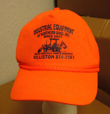 INDUSTRIAL EQUIPMENT NORTHERN OHIO baseball hat Williston cap snapback bulldozer
