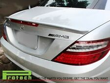SLK55 AMG Painted Color Trunk Spoiler Lip 2011-2013 MB R172 SLK250 SLK SLK350