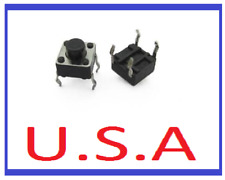 6x6x5 Tactile Switch/Keyboard Push Button/PCB/4 Pin/SMD/Micro/Connector/B-108