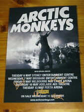 ARCTIC MONKEYS - SIGNED AUTOGRAPHED 2014 Australia Tour Poster - Laminated