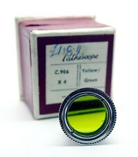 VINTAGE PATHESCOPE YELLOW/GREEN FILTER