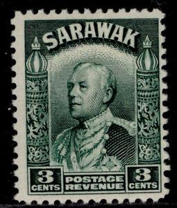 SARAWAK GV SG108a, 3c green, M MINT.