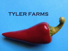 25+ Hot Fresno Pepper seeds (organic chili, chile) Hotter than a jalapeno