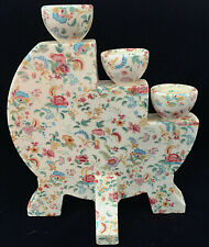 Royal Winton Grimwades Chintz Candle Holder - The Most Unusual Piece EVER!