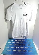 PROPEL CO:LABS Fitness Festival Microfiber Workout Towel & T-Shirt Sz Small
