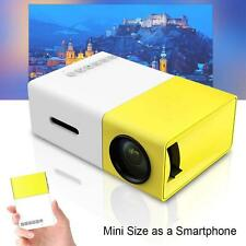 Mini 1080P Full HD LED Projector LCD Smart Home Theater AV HDMI Multimedia EU GL
