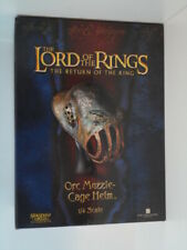 LotR * Orc Muzzle * Cage Helm * ¼ Scale * Sideshow/WETA * Limited 1737/2500