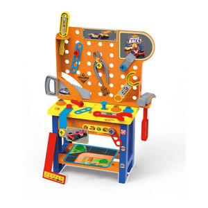 Hot Wheels 53cm Tool Set Bench/Accessories Pretend/Interactive Playset Kids Toy