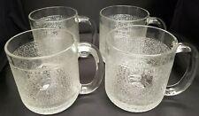 Vintage Iittala Krouvi X 4 Beer Mugs Designed by Oiva Toikka