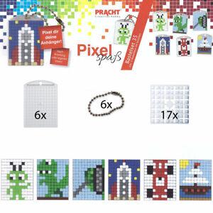 Pixel Spaß Bastel-Set 35 - Schlüsselanhänger 90073-63501 Neu