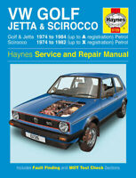 Volkswagen Golf, Jetta & Scirocco Mk 1 1974 - 1984 Haynes Manual 0726 NEW