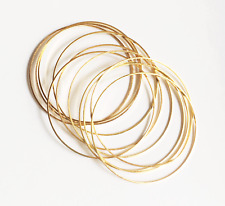 Bulk 100 pcs of Gold plated round connector rings 30mm, Gold linking ring