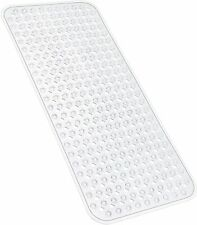 Bath Tub Shower Mat 27.7x15.7 Inch Non-Slip and Phthalate Latex Free, Bathtub Ma