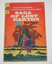 Saga of Lost Earths - by Emil Petaja - 1966 - Science Fiction