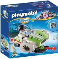 Playmobil 6691 Super 4 Skyjet mit toller Transformationsfunktion, Cool Kanonen !