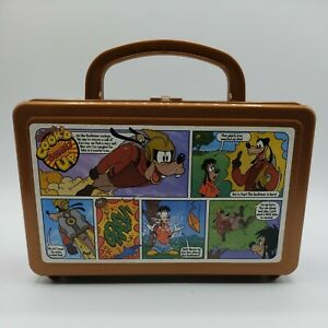 Disney Goofeteer Goofy Cook'd Up Comics Lunch Box Rare Vintage Collectible 1994