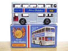 Matchbox Lesney No.17f The Londoner Daimler Fleetline Bus (SILVER JUBILEE MINT!)