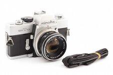 Excellen Minolta SRT 101 35mm SLR w/ MC ROKKOR PF 55mm f/1.7 Lens #1