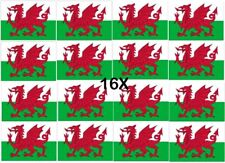 More details for 16x wales large dragon flag 5x3ft welsh rugby 6 nations football st davids day