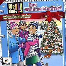 Die drei !!! Adventskalender - Das Weihnachtsrätsel (Hörbuch) NEU & OVP