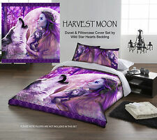 HARVEST MOON CHILD - Duvet Cover Set for DOUBLE BED artwork by Andrew Farley