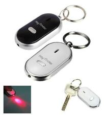 JUST WHISTLE LOST CAR KEY FINDER LOCATOR WITH LED LIGHT KEY RING WHISTLE