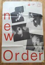 New Order - Low-life - Original french promo poster - 1985 - Peter Saville