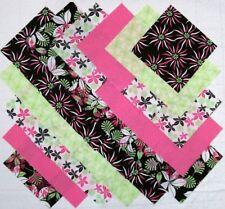 "HOT TROPICS 5"" Squares, 100% Cotton Prewashed, Multi-Color Quilt Fabric(#E/101A)"