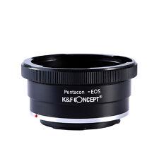 Adapter for Kiev 60 Pentacon 6 P6 Mount Lens to Canon EOS EF 50D 7D 5D 650D 550D