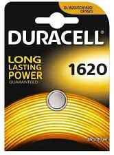 Batteria a bottone DURACELL 1620 CR1620 DL1620 ECR1620 3V litio scad.2024