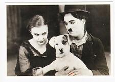 Charlie CHAPLIN carte postale n° STARS 512 (avec petit chien)