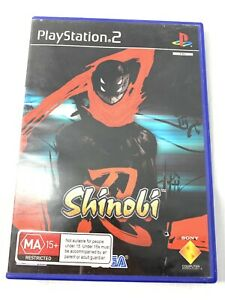 Shinobi  PS2 Game Disc In Good Condition No Manual Tracked Shipping