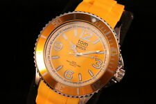 tom watch Damen Uhr Modische Armbanduhren in trendigen Farben 44mm Silikonband