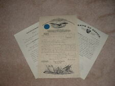 Union or Confederate Civil War Army Officer's Commission Documents (Repro)