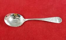 Clover by Towle ~ Sterling Silver Sugar Spoon Bright Cut Victorian 5 3/4""