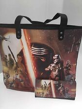 STAR WARS THE FORCE AWAKENS TOTE BAG AND MATCHING PURSE NEW GREAT SET
