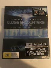 Close Encounters Of The Third Kind (4K + Blu-ray, 2017,3-Disc Set) New & Sealed