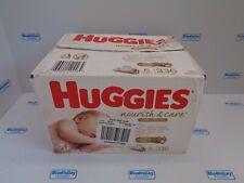 HUGGIES NOURISH & CARE WIPES, 6 56 PACKS, 336 WIPES, NEW