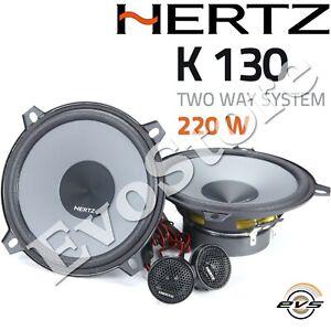 Hertz K 130 kit Casse Altoparlanti 2 vie Woofer 13 cm + Tweeter 24mm GAR ITALIA
