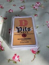 More details for rare~ vintage pils lager alcohol advertising playing cards in case (new/sealed)