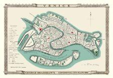 George Bradshaw'S CONTINENTAL Piano della città di Venezia 1896 - 1000 Pezzo Puzzle